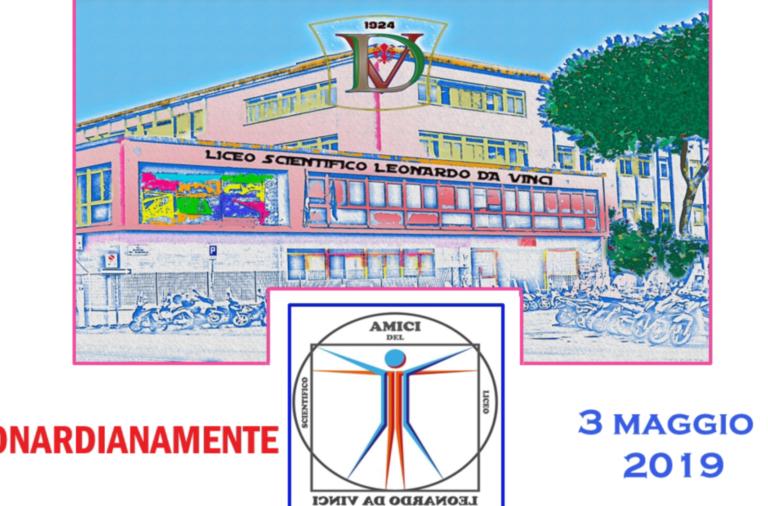 """Il Liceo da Vinci celebra l'anniversario del suo grande omonimo. Con i complimenti del sindaco: """" Questa è una delle scuole più vivaci e attive di tutta la città"""""""