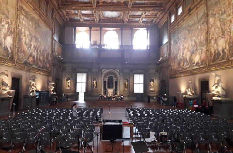 Strage dei Georgofili: la Leoband e l'LDV MUSIC CENTER suonano in Palazzo Vecchio per ricordare l'attentato